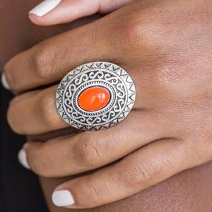 Free with Bundle Hello Sunshine Ring Orange